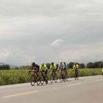 across the road enjoying biela tour cycling trips in colombia